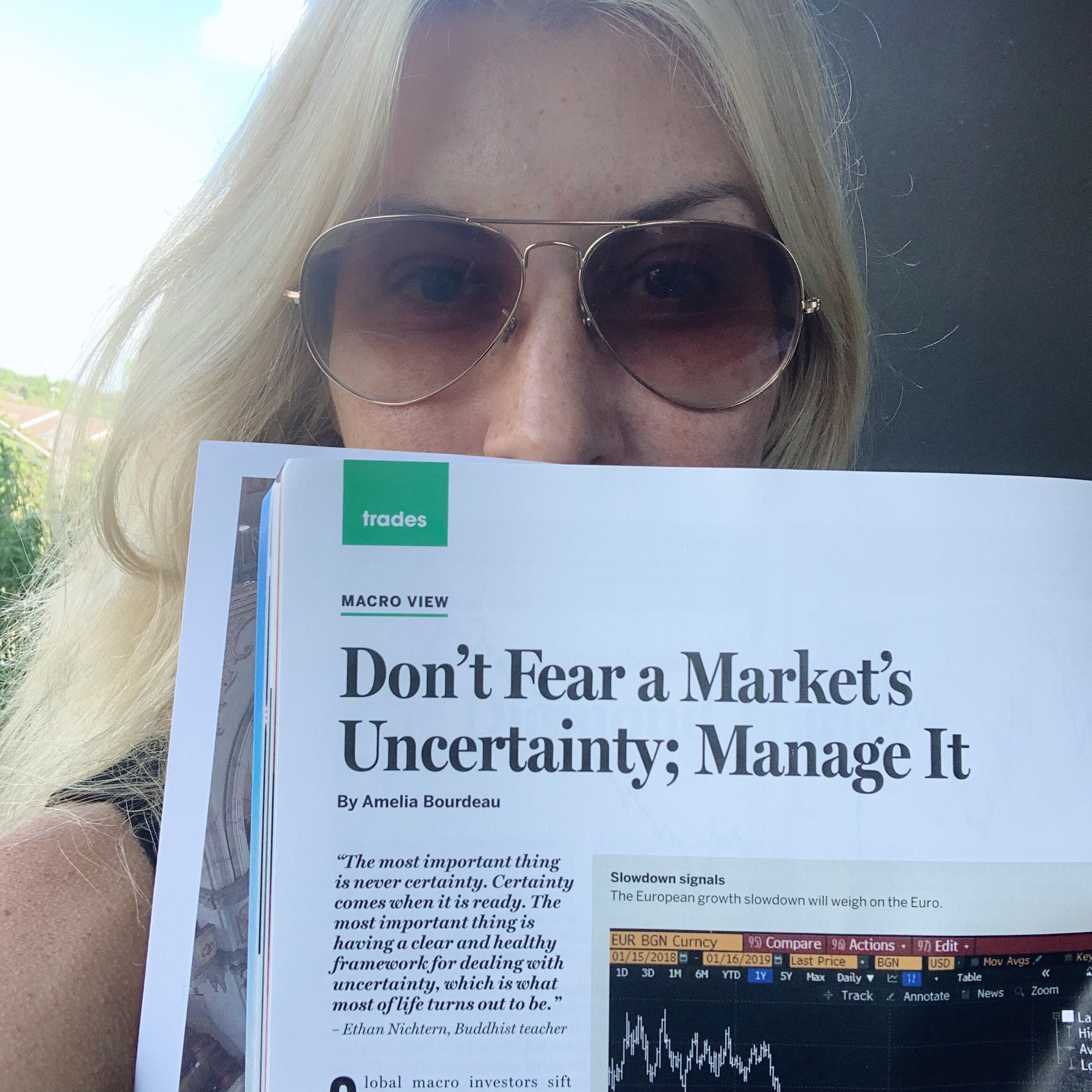 Don't Fear a Market's Uncertainty; Manage It  (April 2019)