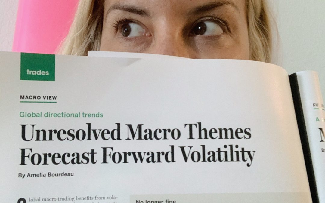 Unresolved Macro Themes Forecast Forward Volatility (July 2019)